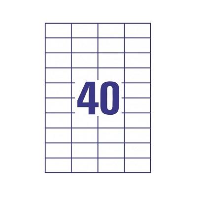 Buy Online Oddy A4 Size Label Sheet 40 Labelsheet 100 Sheets Ahmedabad Gujarat India Offikart